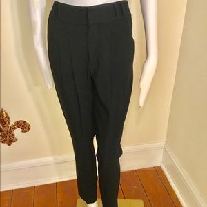 Helmut Lang pleated trousers